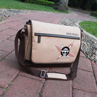 Anime One Piece Cosplay 2017 New Retro Canvas Shoulder Messenger Bag Men And Women Casual Shoulder
