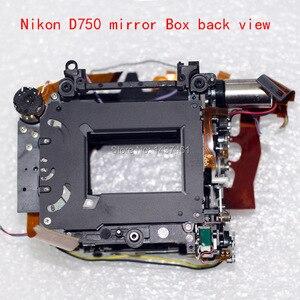 Image 2 - Nieuwe Spiegel Doos Assy Met Diafragma Groep En Sluiter Groep Reparatie Onderdelen Voor Nikon D750 Slr