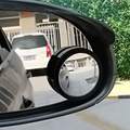 2pcs/lot/set for all Car Mirror Wide Angle Round Convex Car Mirror Blind Spot Auto RearView Auto RearView 360 degree