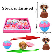 Mini Cupcake Doll Puzzle Board Games for Children Kids Funny Playing House Board Game Gifts Toys(China)