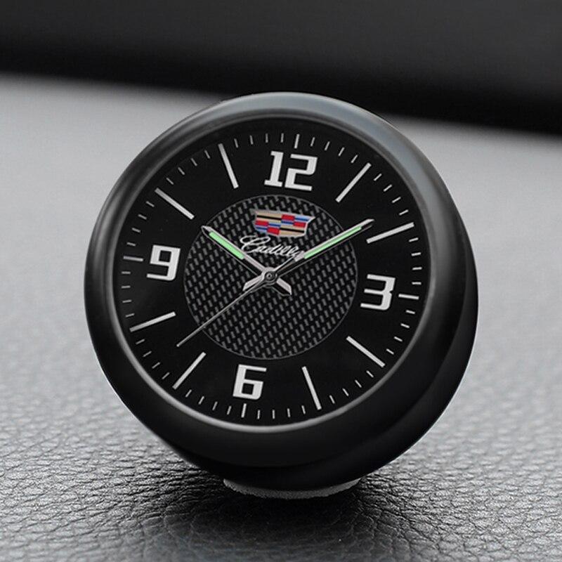 Car Clock Electronic Watch Decoration Car Accessories Car interior fragrance Clock Quartz Watch For Cadillac ATSL XTS XT5 CT6