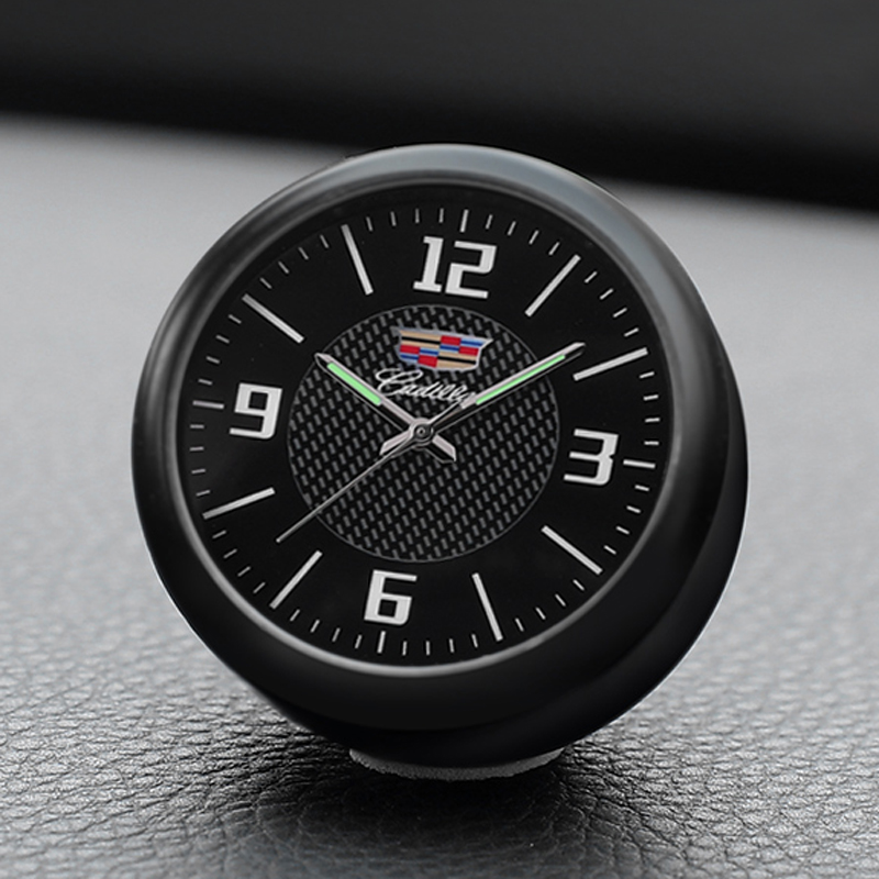 Car Clock Electronic Watch Decoration Car Accessories Car Interior Fragrance Clock Quartz Watch For Cadillac ATSL XTS XT5 CT6