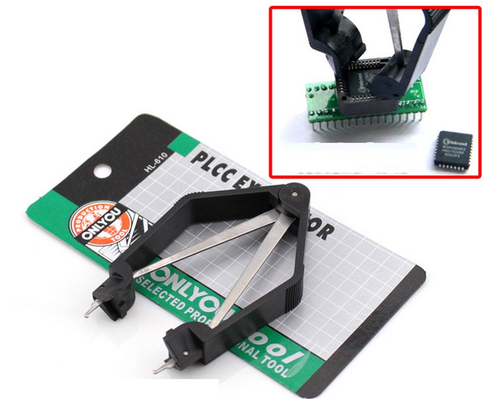 PLCC IC BIOS Chip Extractor Removal Puller  Motherboard Tools Computer