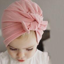 Весенне осенняя хлопковая детская шапка для девочек и мальчиков