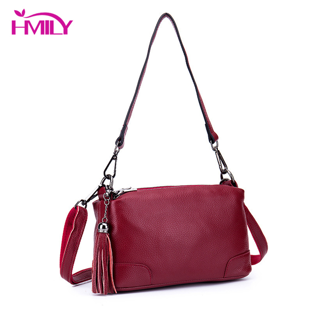 0c349f0ff9df US $36.4 48% OFF|Aliexpress.com : Buy HMILY Simple Cowskin Messenger Bag  Womens Genuine Leather Multi layer Mother Shoulder Bag Female Trendy Multi  ...