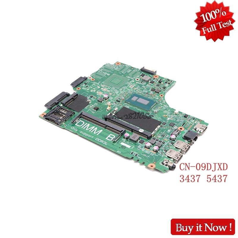 Nokotion CN-09DJXD 9DJXD FOR Dell Inspiron 3437 5437 Laptop Motherboard DOE40-HSW 12307-2 PWB VKJ89 REV A00 2955U Tested