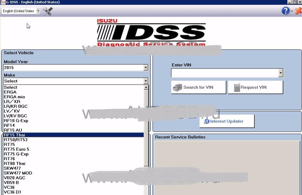 For Isuzu G-IDSS Domestic 2020 - Isuzu Diagnostic Service System +keygen