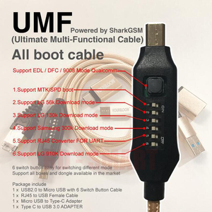 Image 3 - 2020 original new infinity CM2 dongle infinity box dongle + umf all in one boot cable for GSM CDMA phones