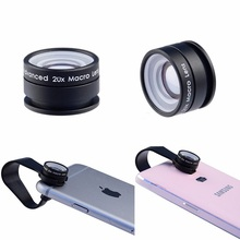 Universal Super Macro phone Lens 20 times to expand the super 20X Macro camera Phone Lens with Clip for iOS Android lens