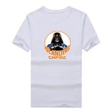 2017 New 100% Cotton Islanders Empire T-shirt Star Wars Darth Vader new york ny T Shirt 0104-18