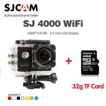 Original SJCAM SJ4000 Wifi 1080P HD Waterproof Sport Action Camera Camcorder Car DV with 32G TF memory card