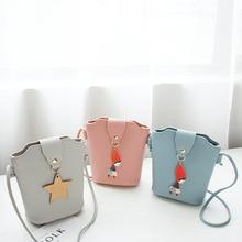 Handbag small fashion mini Messenger bag ladies handbag mobile bucket