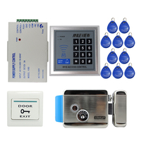 Cheap Brand NEW Rfid Door Access Control System Kit Set Electric Control Door Lock Rfid Keypad