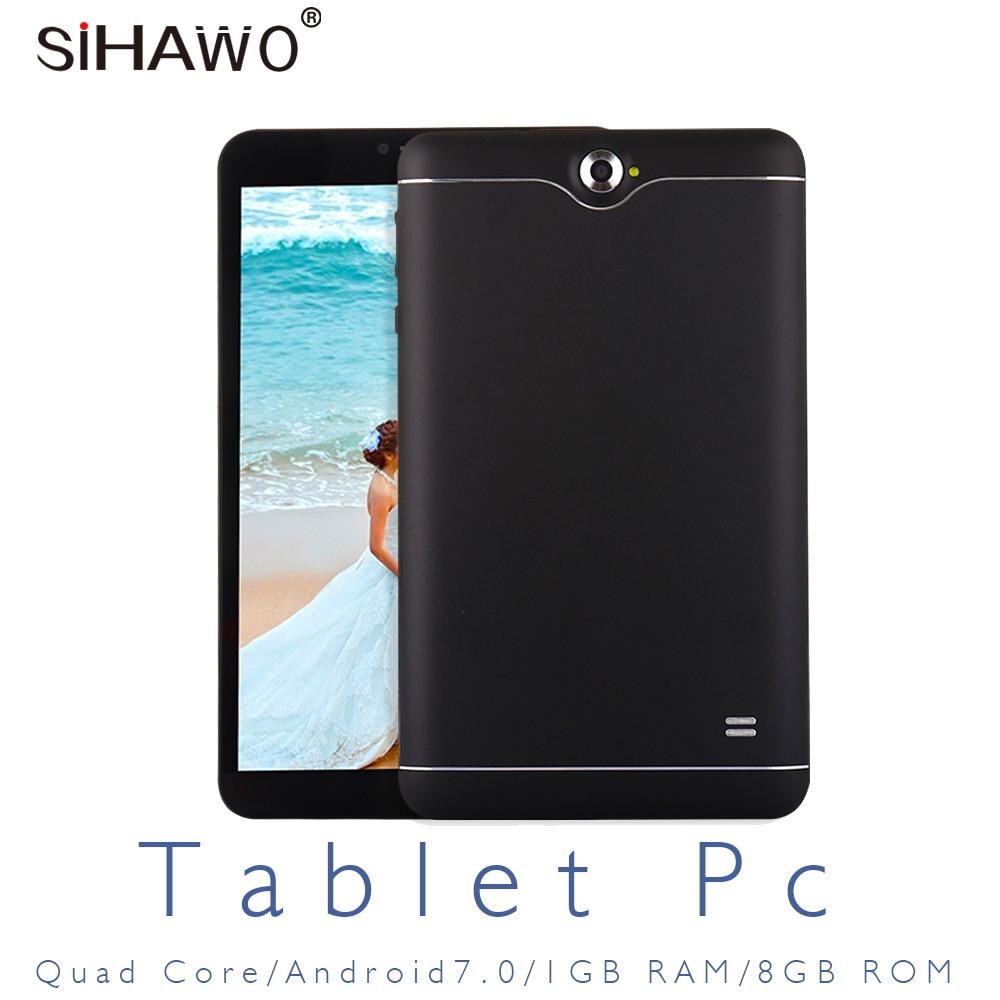 7 pouces tablette pc enfants tablette Android 7 MTK8321 Quad core 3G double SIM 3G téléphone 1 gramme 8 GROM 1024*600 GPS Bluetooth OTG WIFI