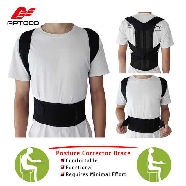 2df899363d Back Posture Corrector Shoulder Lumbar Brace Spine Support Belt Adjustable  Adult Corset Posture Correction Belt Body Health Care