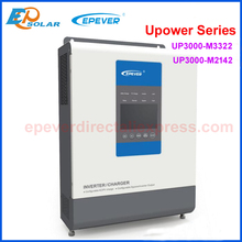 EPever UPower Inverter Charger for 24V48V Battery Pure Sine Wave Off Grid Tie Inverter and MPPT Solar Charger UP3000 M3322 M2142