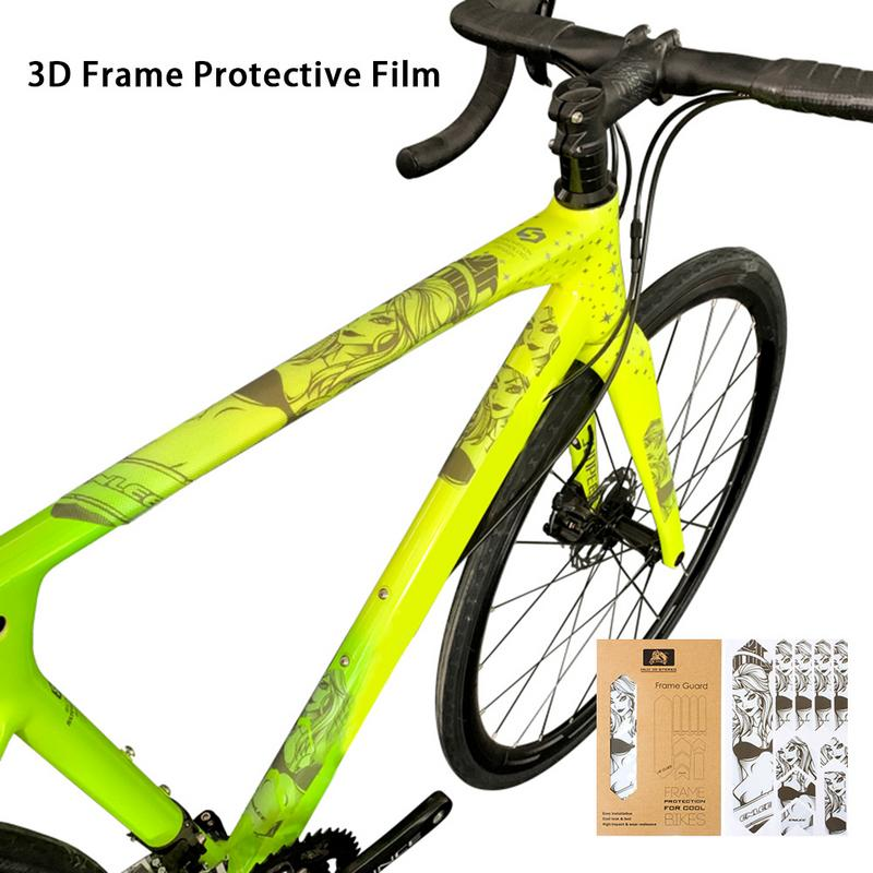 Bicycle protective film Bicycle Sticker Frame Protection Mountain Bike