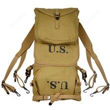 Repro WW2 US Army M1928 plecak plecak torba kempingowa wysokiej jakości