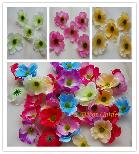 7cm artificial poppy decorative silk flower head for diy hair 7cm artificial poppy decorative silk flower head for diy hair garland wreath flower home decoration accessory props in artificial dried flowers from home mightylinksfo