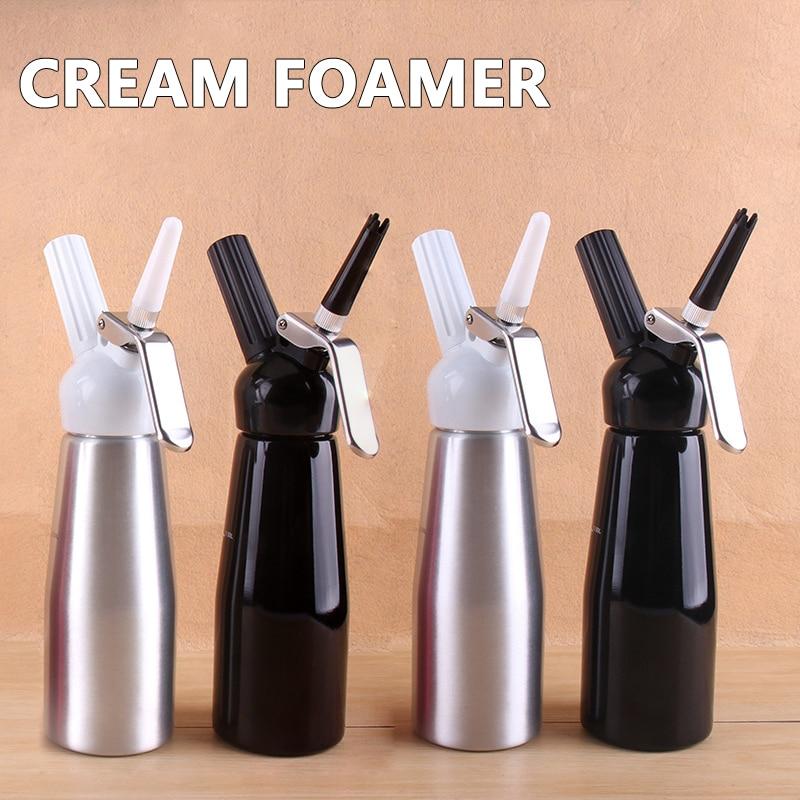 Coffee Aluminum Butter Gun Bubbler 0.5L Fresh Butter Bubbler Milk Beater|Milk Jugs| |  - title=