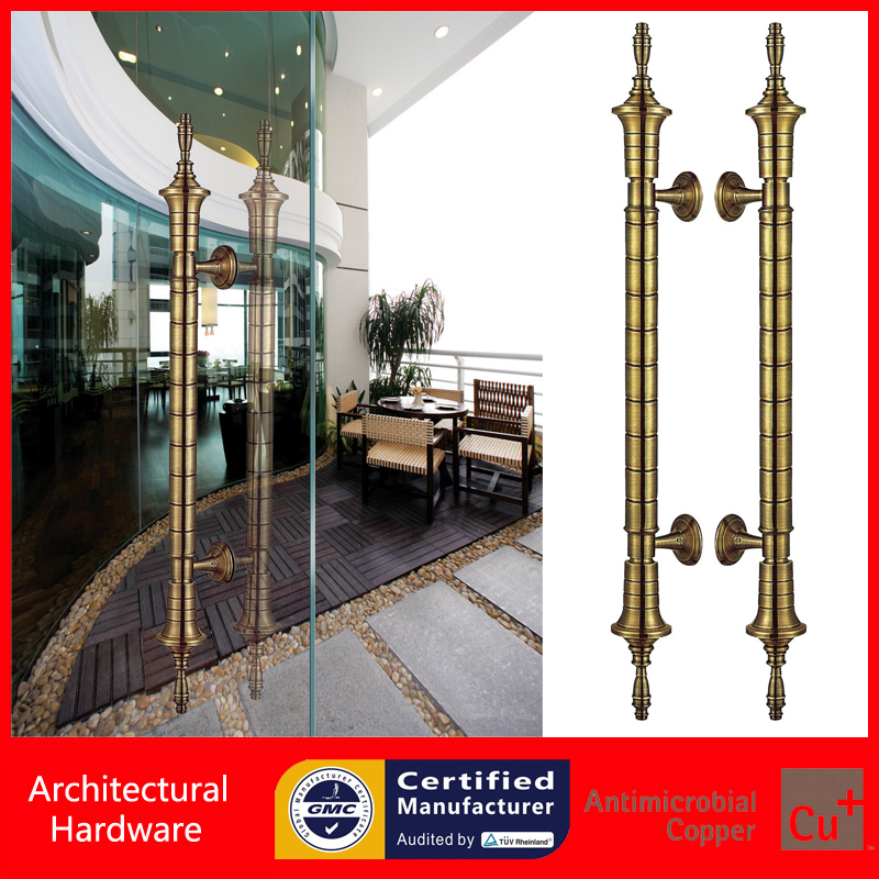 Luxurious Entrance Door Handle Bronze Copper Pull Handles PA-269-38*800mm For Glass/Wooden/Frame Doors entrance door handle high quality stainless steel pull handles pa 121 38 500mm for glass wooden frame doors