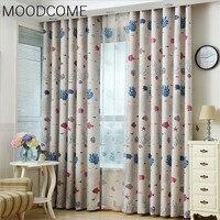 Ocean Ocean World Custom Cartoon Children Room Boy Bedroom Window Curtain Curtains For Living Dining Room