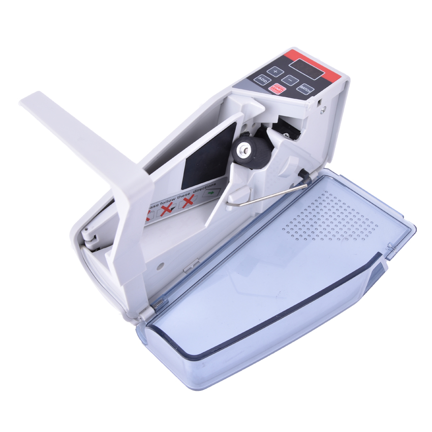 V40 Mini Portable Handy Bill Cash Money registers Currency Counter Counting Machine