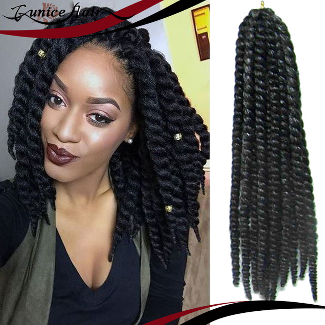 New Hair Style Havana Mambo Twist Crochet Braids Short Afro Twists