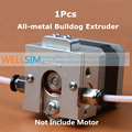 1 Pcs DIY Reprap Bulldog todo em metal extrusora para 1.75 3 mm compatível com E3D J - chefe MK8 remotamente proximidade para 3D printer parts