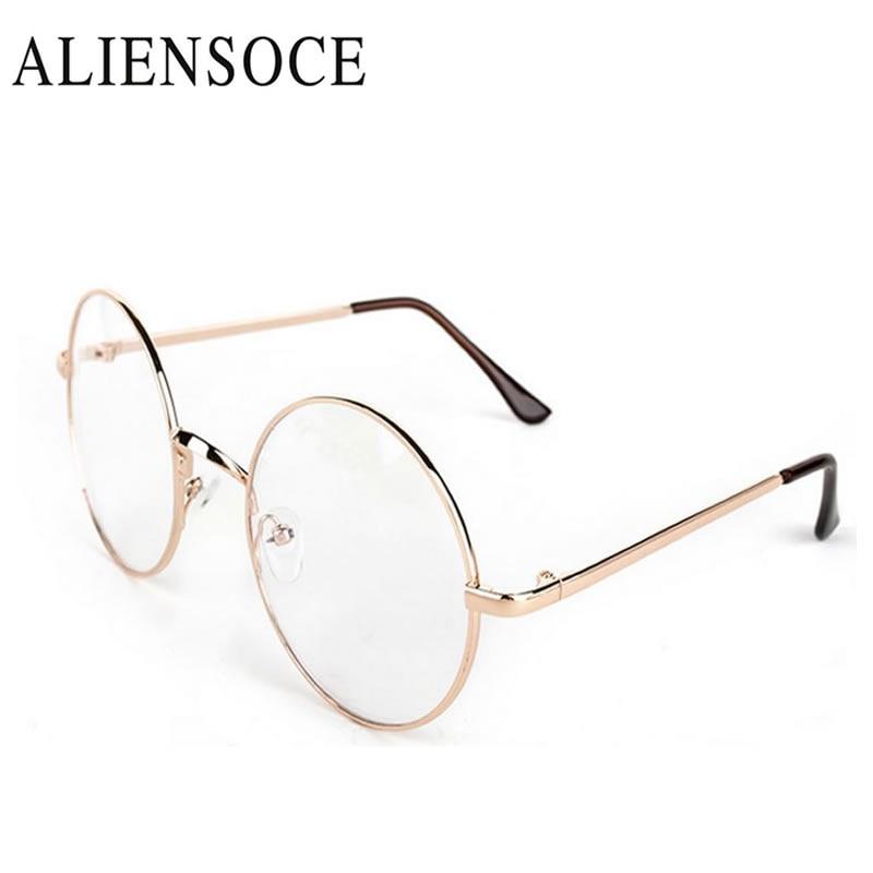 Compra ronda gafas con lentes azules online al por mayor de China ...