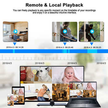 BESDER 1080P Wireless Ip Camera Surveillance System Indoor Outdoor Home Security Wifi Camera Ip NVR Kit 2 MP Motion Detection