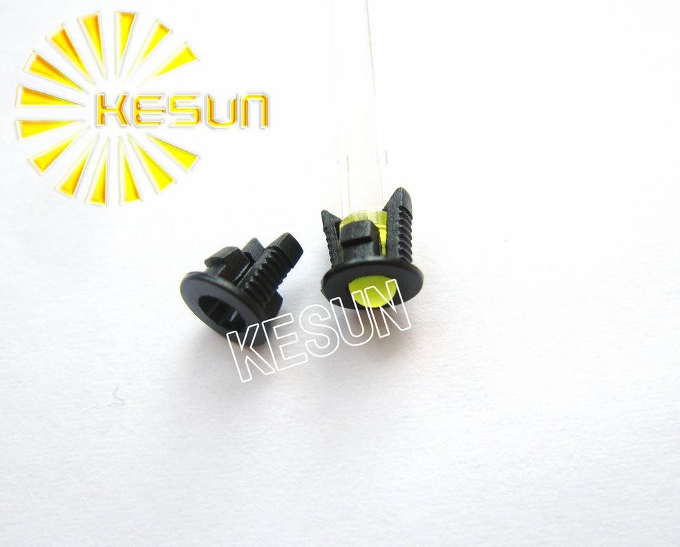 100pcs X 3MM 5MM Led Holder Plastic Black LED Connector Buckle Led Bezel Holder For 3mm 5mm Light-emitting Diode
