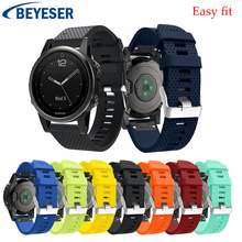 Smart classic strap For Garmin Fenix 5S/5S Plus Watchband Strap Watch Quick Releasement Silicone Easy fit Wrist Band watch bands все цены