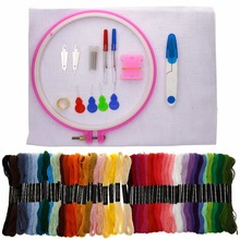 Home Handcraft Cross Stitch Tool Kit Embroidery Starter Kit