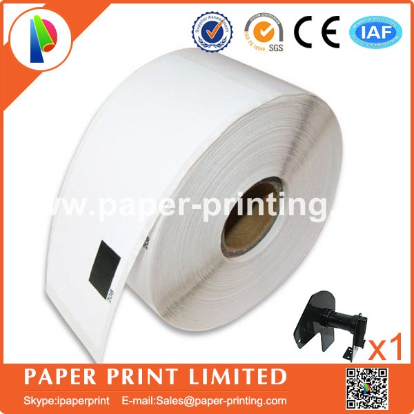 50x Rolls Brother Compatible Labels dk-11208 with 1 reusable cartridges frames dk 11208 dk11208 38x90mm Address Label