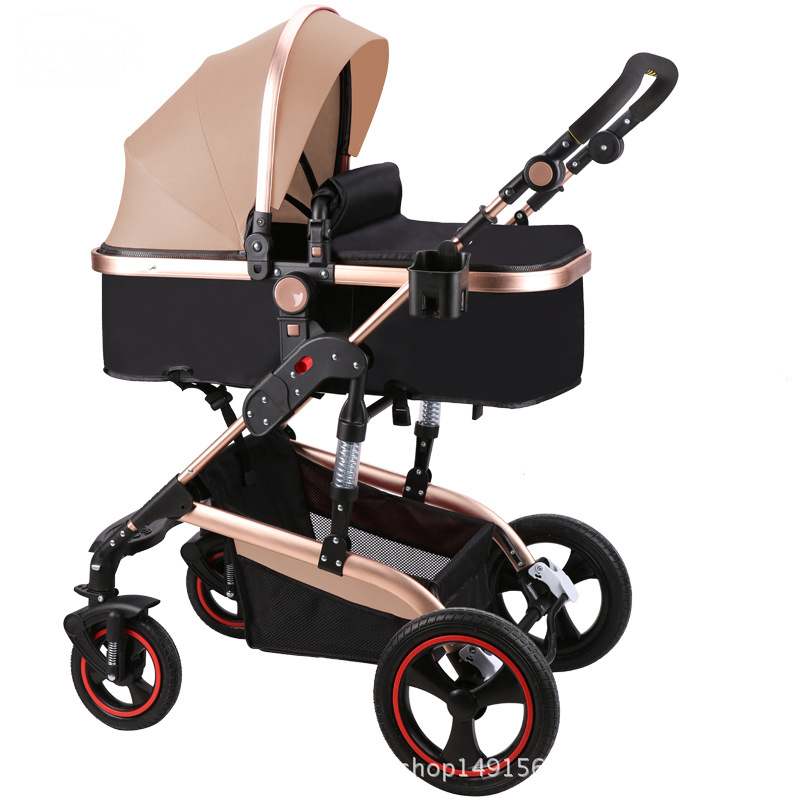 Ebola Baby Stroller High Landscape Can Sit And Lie And Shock Proof Foldable Pushchair Baby Stroller