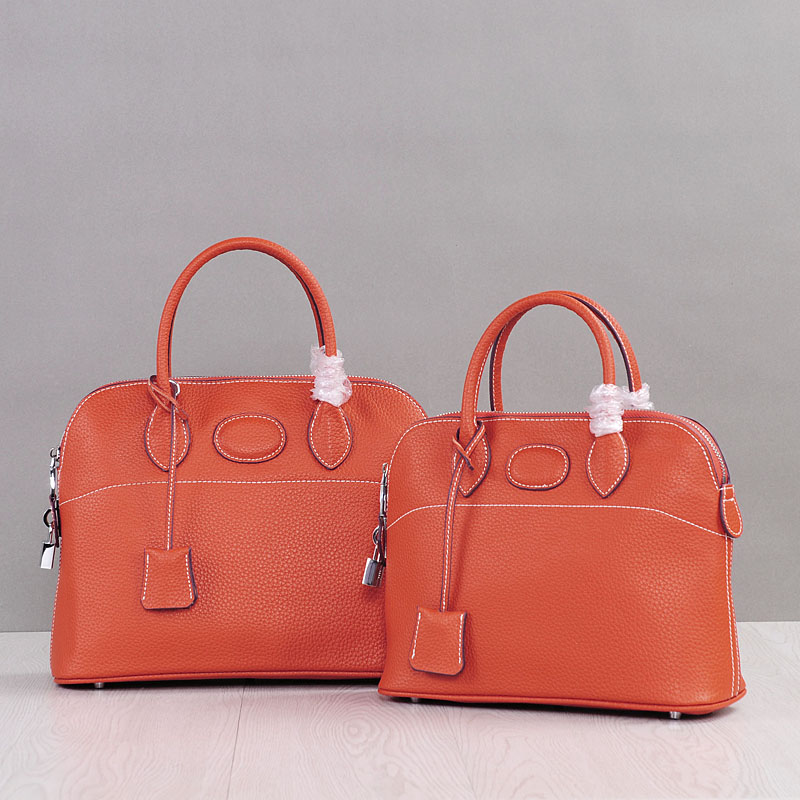 купить PRAVESDA hot sale women genuine leather handbags shell style fashion tote bags simple casual design crossbody bags по цене 3816.02 рублей