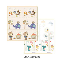 200*150*1CM Portable Foldable Baby Climbing Pad Baby Play Mat Foam Pad XPE Environmental Tasteless Parlor Game Blanket