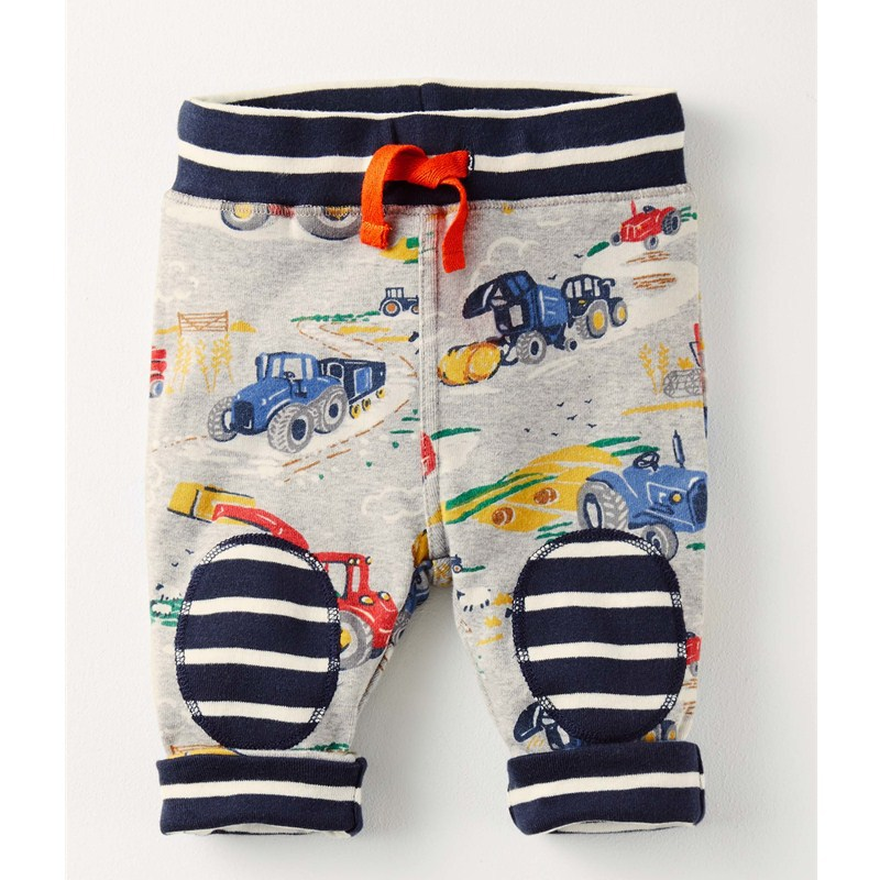 VIDMID New Baby Boys Pants Kids Harem pants Autumn thick cartoon cars fox Cotton Pants Children Trousers for boys striped pants