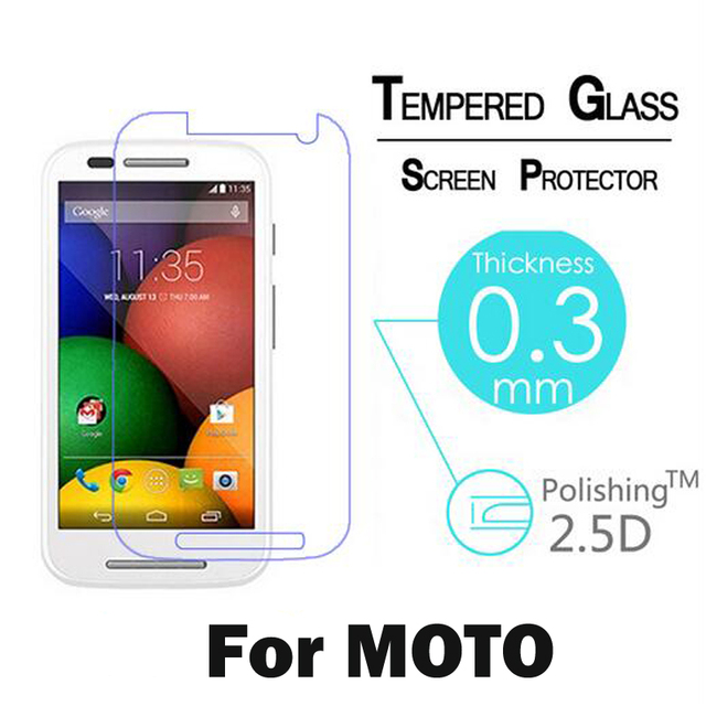 GerTong Screen Protector Tempered Glass For Motorola For Moto G3 G G2 G4 Z X Play X Style X2 E E2 Toughened Protective Film