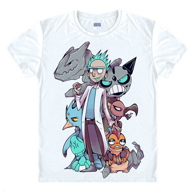 Rick and Morty- Custom Designs T-Shirts