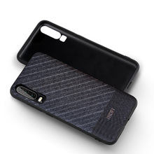 MOFi Suit Fabric with Silicone Edge Case for Huawei P30, P30 Pro, P30 Lite