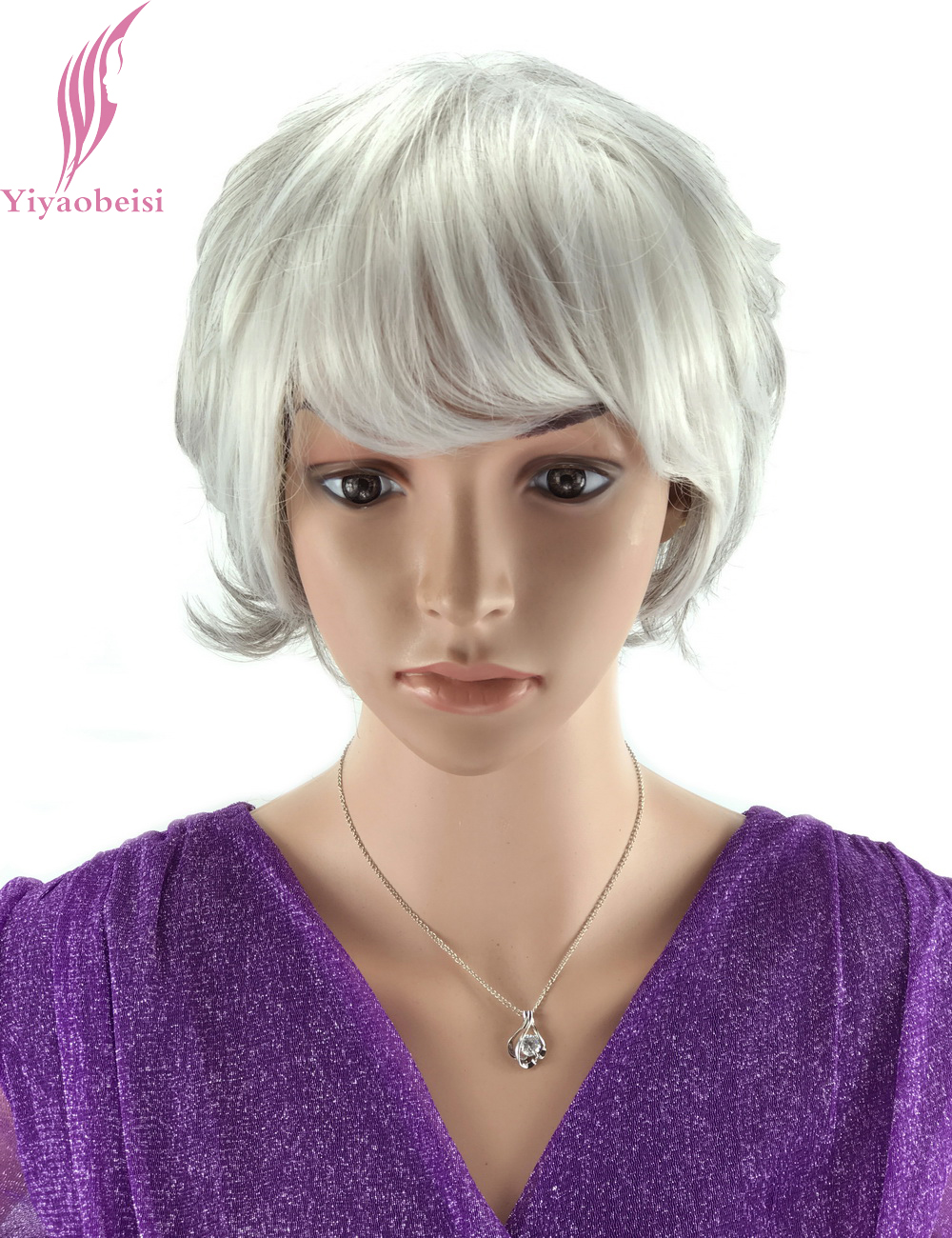 Groovy Popular Grey Old Hair Buy Cheap Grey Old Hair Lots From China Grey Short Hairstyles Gunalazisus