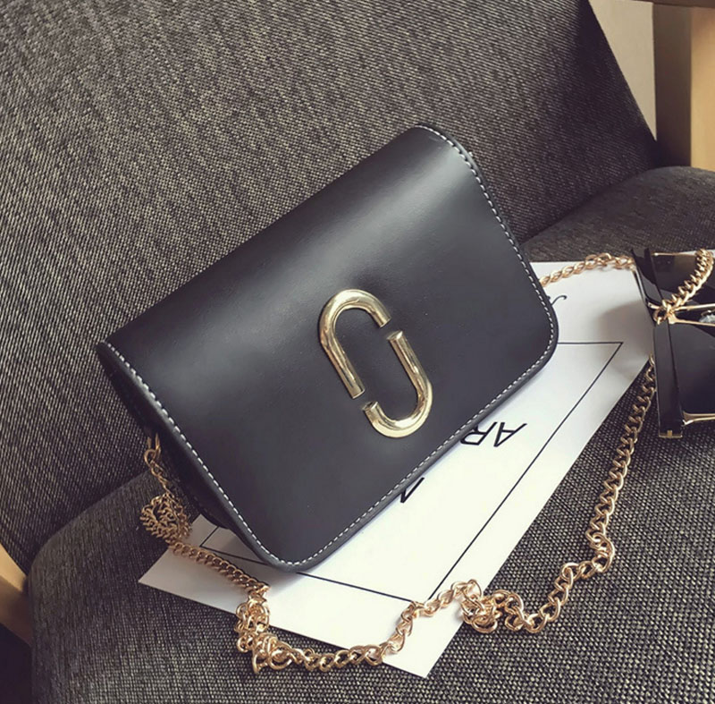 2017  Women New Fashion Chain Shoulder Bags Ladies PU Leather Messenger Bags Crossbody Bags for Women High Quality Girls Handbag
