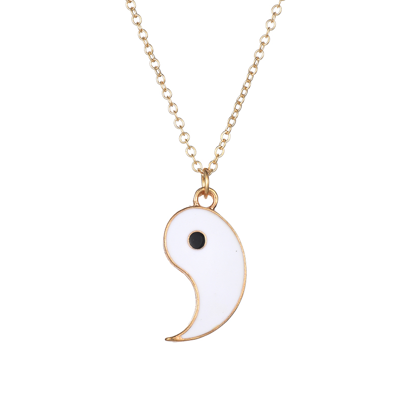 HTB1zNx6I4WYBuNjy1zkq6xGGpXah - Fashion Jewelry YOU ME Ying Yang Statement Necklaces Taiji Bagua Charm Pendant Jewelry for Lovers colar masculino Women
