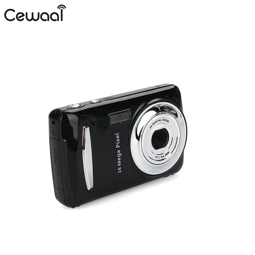 Cewaal Black Ultra Photo 16MP 1080P HD Digital Camera DVR 16MP 1080P HD Camera Precise Video Recorder 16MP 1080P Camera DV