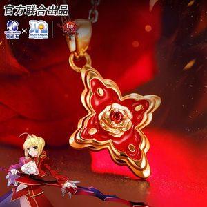Image 2 - قلادة من الفضة الإسترلينية نيرو 925 من إكستيلا FGO CCC شخصية قتالية صابر أحمر Hakuno Kishinami شخصية قتالية الطلب الكبير