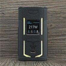 Họa Tiết Dành Cho VOOPOO X217 217W TC Box Mod Bảo Vệ Silicone Bao Bọc Phù Hợp Với VOOPOO Thân Gỗ VAPES X 217