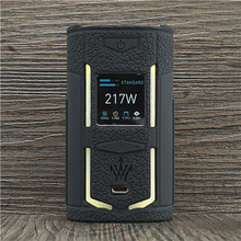Texture Case for VooPoo X217 217W TC Box Mod Protective Silicone Sleeve Cover Wrap fit VOOPOO Woody Vapes X 217