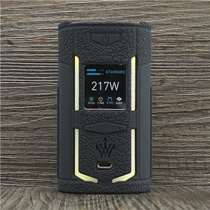 Image 1 - Texture Case for VooPoo X217 217W TC Box Mod Protective Silicone Sleeve Cover Wrap fit VOOPOO Woody Vapes X 217